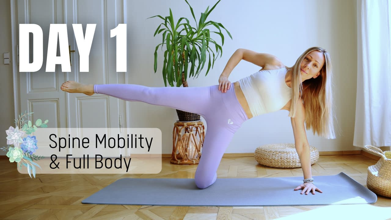 Spine Mobility and Full Body Workout
