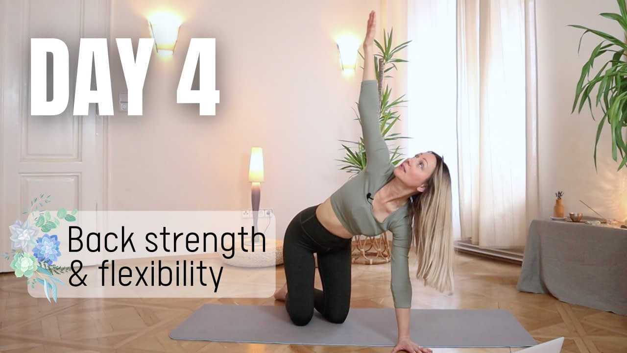 Back strength and flexibility